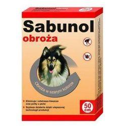Sabunol obroża szara przeciw pchłom i kleszczom 50 cm