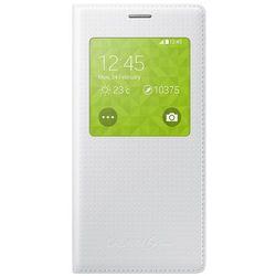 Samsung S View Cover do Galaxy S5 Mini błyszczący biały