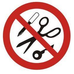 Zakaz wstępu z metalowymi przedmiotami
