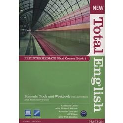 New Total English Pre-Intermediate Flexi Course Book 1 (opr. miękka)