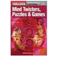 Timesaver: Mind Twisters, Puzzles and Games (opr. miękka)