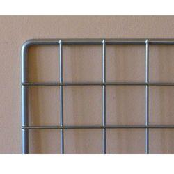 krata ekspozycyjna 100x80cm, metalowa wzmocniona - srebrna