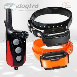 Elektroniczne obroże do tresury 2 psów - Dogtra iQ Plus