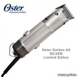 OSTER GOLDEN A5 SILVER LIMITED EDITION - PROFESJONALNA MASZYNKA DO STRZYŻENIA W NOWYM DESIGNIE + OSTRZE OSTER NR10 GRATIS !