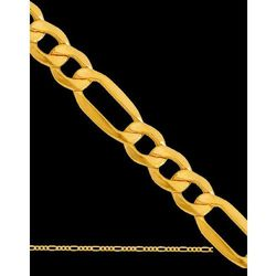 ?55cm łańcuszek złoty typu figaro