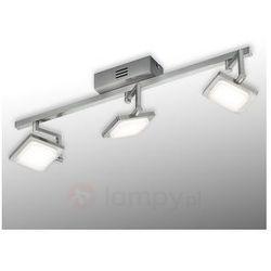 Trzypunktowa lampa sufitowa LED Denver