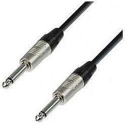 Adam Hall Cables 4 Star Series - Instrument Cable REAN 6.3 mm Jack mono / 6.3 mm Jack mono 1.5 m przewód instrumentalny