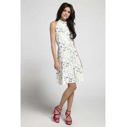 a08c25e7d0 suknie sukienki biala letnia sukienka wiazana na ramionach z ...