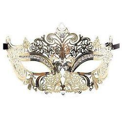 Maska karnawałowa Prinsess, złota