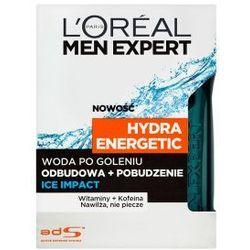 L'OREAL Men Expert Hydra Energetic kosmetyki męskie - woda po goleniu Ice Impact 100ml