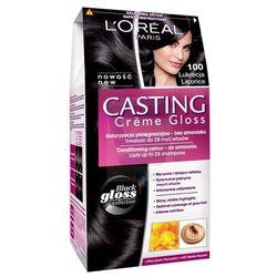 Loreal Paris Casting Creme Gloss Farba do włosów bez amoniaku Lukrecja nr 100