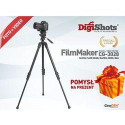 Statyw foto video, opcja makro CG-3028, 162cm