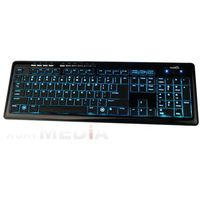 KLAWIATURA NATEC MEDUSA 2 BACKLIGHT BLACK US LAYOUT