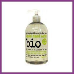 BIO-D Antybakteryjne mydło w płynie Limonka & Aloes