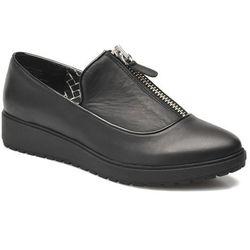 Buty sznurowane Shellys London Basulto Damskie Czarne Dostawa 2 do 3 dni
