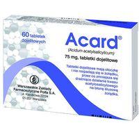Acard 75 mg x 60 tabl