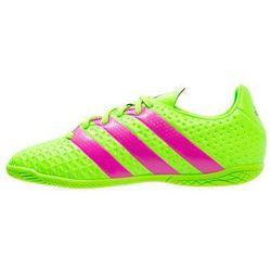 adidas Performance ACE 16.4 IN Halówki solar green/shock pink/core black