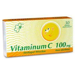 Vitaminum C-Herbapol Wrocław tabl.drażow. 0,1 g 60 tabl. (6 blist.po 10 szt.)