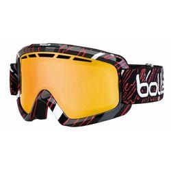 Gogle Bolle NOVA II SHINY BLACK RED CITRUS GOLD BO21078
