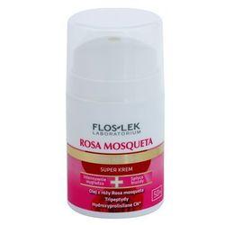 FlosLek Laboratorium Rosa Mosqueta Rejuvenation 50+ krem intensywnie nawilżający o działaniu przeciwzmarszczkowym + do każdego zamówienia upominek.