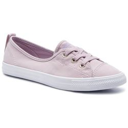 Tenisówki CONVERSE Ctas Ballet Lace Slip 564314C Plum ChalkWashed Lilac