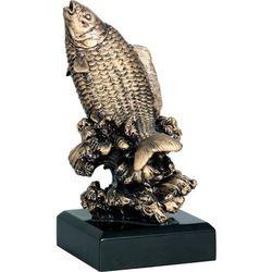 Statuetka wędkarstwo, największa ryba, ryba