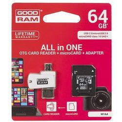 Karta MicroSD GoodRam 64GB (M1A4-0640R11) Darmowy odbiór w 21 miastach!
