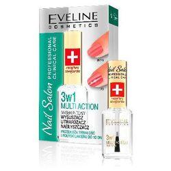 Eveline Nail Salon Lakier odżywka 3w1 wzmacniająco-nabłyszczająca 12ml