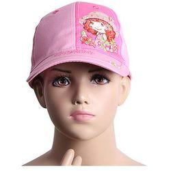 Truskaweczka czapki z daszkiem hurtownia, Truskawkowe ciastko Różowy Jasnoróżowy