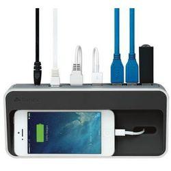 Kanex simpleDock - Stacja dokująca 2.1A (USB), 3x USB 3.0 Hub, Gigabit Ethernet (aluminium)