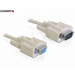Kabel Transmisyjny Szeregowy 9f/9m Rs232 2m Delock