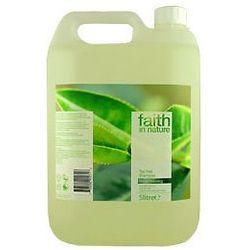 Organiczny szampon do włosów z dodatkiem olejku z drzewa herbacianego 5 litrów Faith In Nature