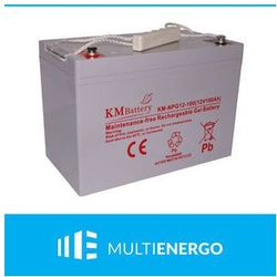 AKUMULATOR ŻELOWY KM BATTERY KM-NPG12-100 100Ah