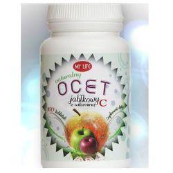 Ocet jabłkowy z witaminą C 100 tabl.