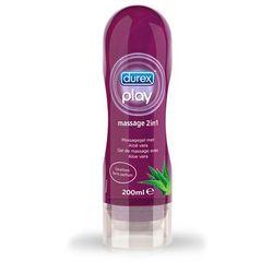 Durex Play 2w1 ALOE VERA - ALOESOWY do masażu oraz nawilżenie - 200 ml