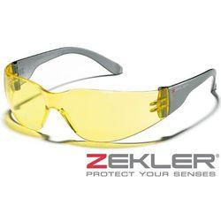 ZEKLER Okulary ochronne 30-HC/AF żółte 380600312