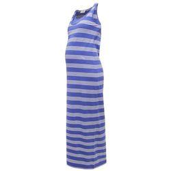 Mama Licious MLTRIBBI Długa sukienka deep ultramarine
