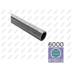 Rura nierdzewna, szlif AISI304, D16x1,5/L6000mm