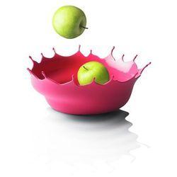 Menu DROPP! Silikonowa Misa na Owoce - Kropla Różowa