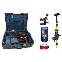 Laser liniowy Bosch GLL 2-80 P + BM1 + LR2 + statyw + okulary