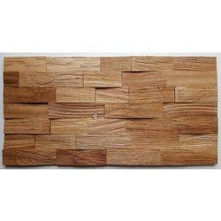 Panele drewniane Dąb łupany cegiełka 3D *029 - Natural Wood Panels