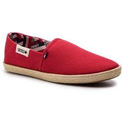 baad9ace3aaf4 Espadryle TOMMY JEANS - Summer Shoe EM0EM00279 Tango Red 611