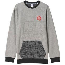 Bluza adidas Derrick Rose Marble Burn-out Crew M AH4027