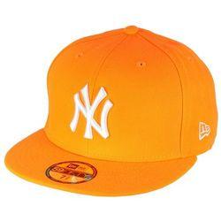 czapka z daszkiem New Era 59F League Basic MLB New York Yankees - Hunter Flame Orange