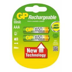2 x akumulatorki GP R03 AAA Ni-MH 650