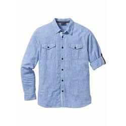 ba8b9dd32111a6 Koszule męskie bonprix (od Koszula z długim rękawem Slim Fit bonprix ...