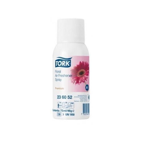 TORK odświeżacz powietrza w spray'u kwiatowy Tork, odświeżacz powietrza, kwiaty, aerozol, spray