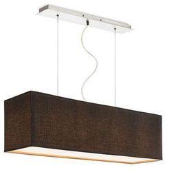 LAMPA wisząca LOPE R10539 Redlux ŻYRANDOL abażurowy czarny
