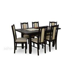 ZESTAW DAFNE stół i 6 krzeseł / LAMINAT / TANIO / SPRAWDŹ
