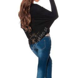 Sweter z dłuższym tyłem | swetry damskie